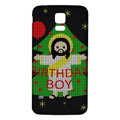 Jesus   Christmas Samsung Galaxy S5 Back Case (white)