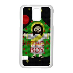 Jesus   Christmas Samsung Galaxy S5 Case (white)