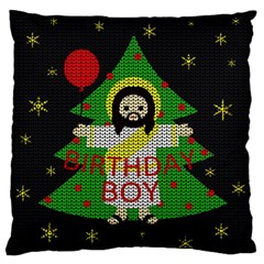 Jesus   Christmas Standard Flano Cushion Case (two Sides)