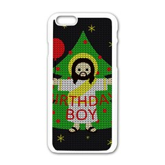 Jesus   Christmas Apple Iphone 6/6s White Enamel Case
