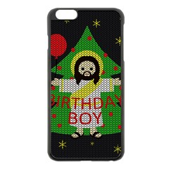 Jesus   Christmas Apple Iphone 6 Plus/6s Plus Black Enamel Case