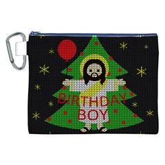 Jesus   Christmas Canvas Cosmetic Bag (xxl)