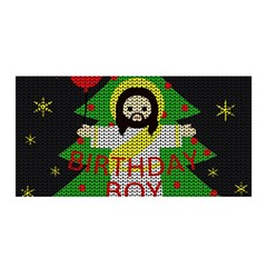 Jesus   Christmas Satin Wrap