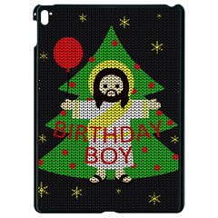 Jesus   Christmas Apple Ipad Pro 9 7   Black Seamless Case