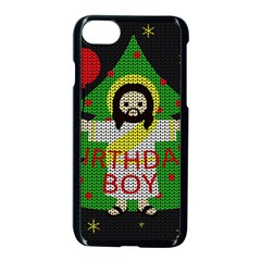 Jesus   Christmas Apple Iphone 8 Seamless Case (black)