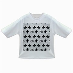 Royal1 Black Marble & White Leather (r) Infant/toddler T Shirts
