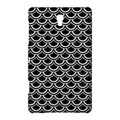 Scales2 Black Marble & White Leather (r) Samsung Galaxy Tab S (8 4 ) Hardshell Case