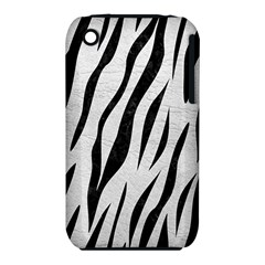 Skin3 Black Marble & White Leather Iphone 3s/3gs