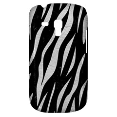 Skin3 Black Marble & White Leather (r) Galaxy S3 Mini