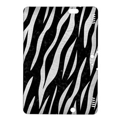 Skin3 Black Marble & White Leather (r) Kindle Fire Hdx 8 9  Hardshell Case
