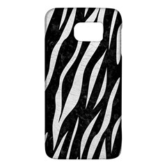 Skin3 Black Marble & White Leather (r) Galaxy S6