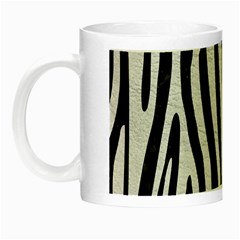 Skin4 Black Marble & White Leather Night Luminous Mugs