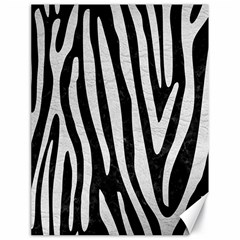 Skin4 Black Marble & White Leather Canvas 18  X 24