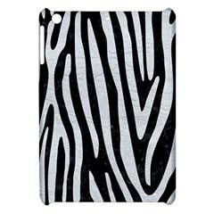 Skin4 Black Marble & White Leather Apple Ipad Mini Hardshell Case