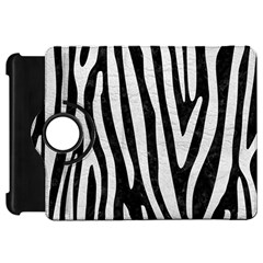 Skin4 Black Marble & White Leather Kindle Fire Hd 7