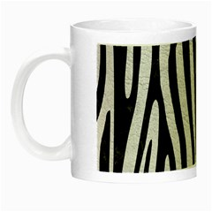 Skin4 Black Marble & White Leather (r) Night Luminous Mugs