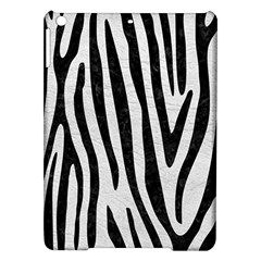 Skin4 Black Marble & White Leather (r) Ipad Air Hardshell Cases