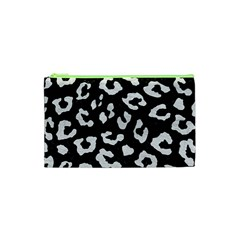 Skin5 Black Marble & White Leather Cosmetic Bag (xs)
