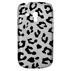 Skin5 Black Marble & White Leather (r) Galaxy S3 Mini