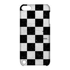 Square1 Black Marble & White Leather Apple Ipod Touch 5 Hardshell Case With Stand