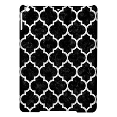 Tile1 Black Marble & White Leather (r) Ipad Air Hardshell Cases