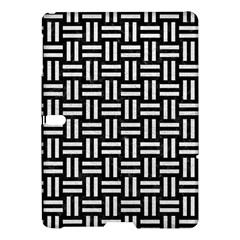 Woven1 Black Marble & White Leather (r) Samsung Galaxy Tab S (10 5 ) Hardshell Case