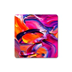 Abstract Acryl Art Square Magnet