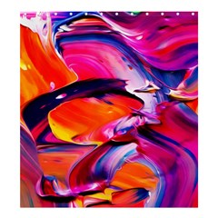 Abstract Acryl Art Shower Curtain 66  X 72  (large)