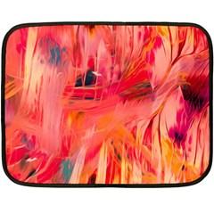 Abstract Acryl Art Fleece Blanket (mini)