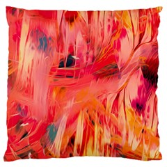 Abstract Acryl Art Large Cushion Case (one Side)