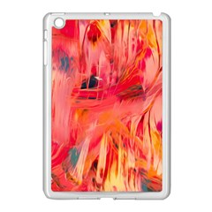 Abstract Acryl Art Apple Ipad Mini Case (white)