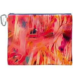 Abstract Acryl Art Canvas Cosmetic Bag (xxxl)