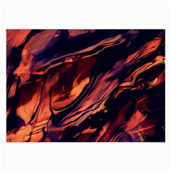 Abstract Acryl Art Large Glasses Cloth