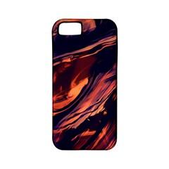 Abstract Acryl Art Apple Iphone 5 Classic Hardshell Case (pc+silicone)