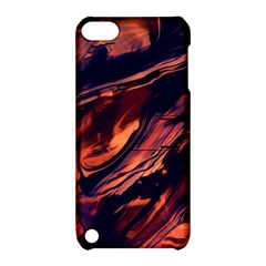 Abstract Acryl Art Apple Ipod Touch 5 Hardshell Case With Stand