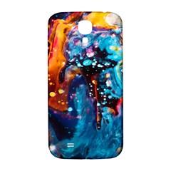 Abstract Acryl Art Samsung Galaxy S4 I9500/i9505  Hardshell Back Case