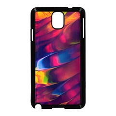 Abstract Acryl Art Samsung Galaxy Note 3 Neo Hardshell Case (black)