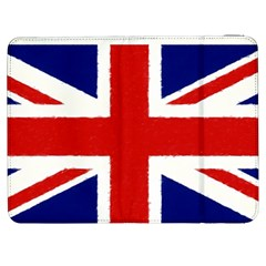 Union Jack Pencil Art Samsung Galaxy Tab 7  P1000 Flip Case