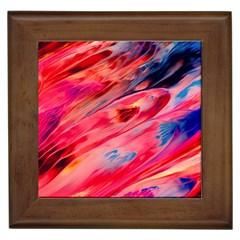 Abstract Acryl Art Framed Tiles