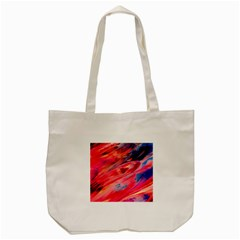 Abstract Acryl Art Tote Bag (cream)