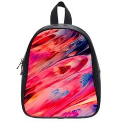 Abstract Acryl Art School Bag (small)