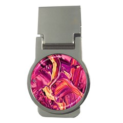 Abstract Acryl Art Money Clips (round)