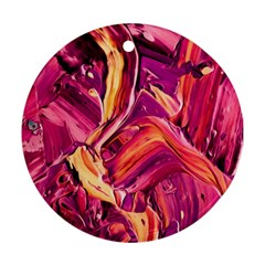 Abstract Acryl Art Ornament (round)