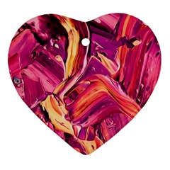 Abstract Acryl Art Ornament (heart)
