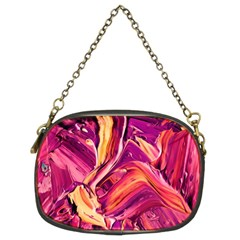 Abstract Acryl Art Chain Purses (two Sides)