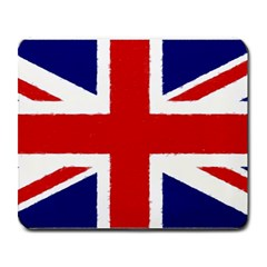 Union Jack Watercolor Drawing Art Large Mousepads