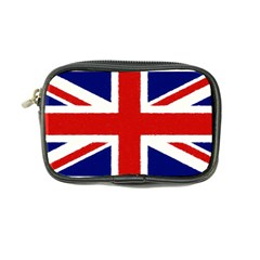 Union Jack Watercolor Drawing Art Coin Purse