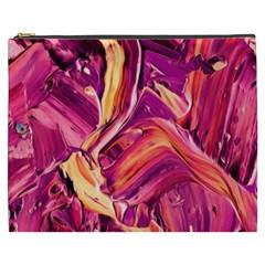 Abstract Acryl Art Cosmetic Bag (xxxl)