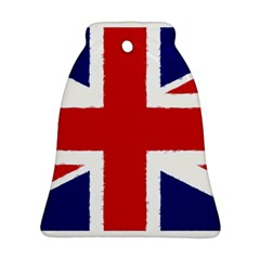 Union Jack Watercolor Drawing Art Ornament (bell)
