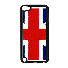 Union Jack Watercolor Drawing Art Apple Ipod Touch 5 Case (black)